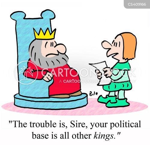 political base cartoon