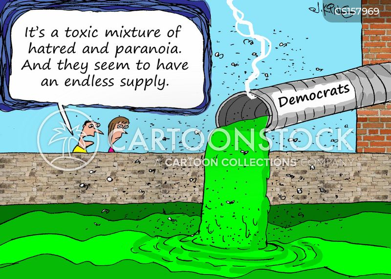 toxicity cartoon