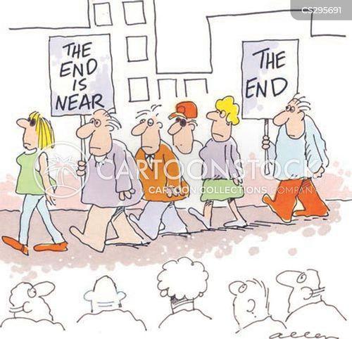 end of world cartoon