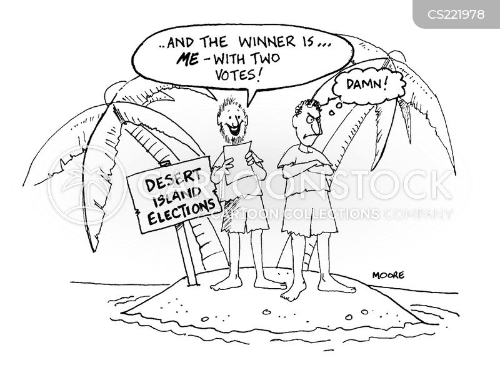 voting system cartoon