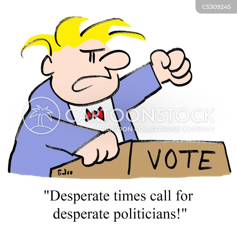 desperate times cartoon