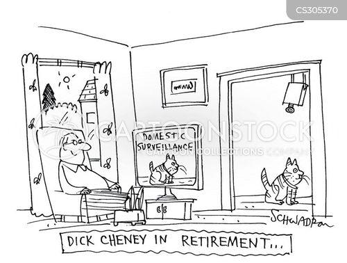 domestic surveillance cartoon