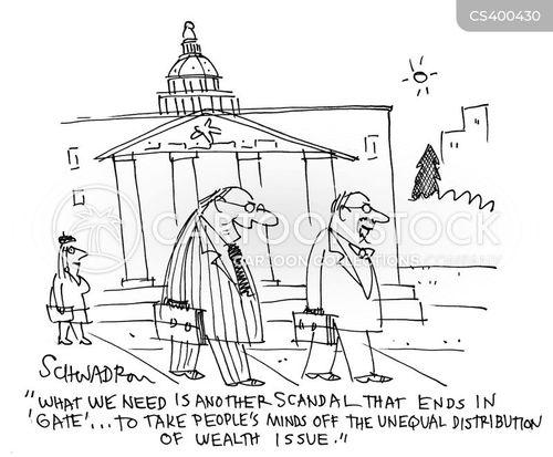 social unrest cartoon