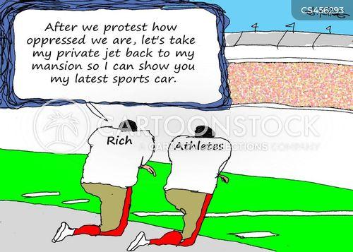 colin kaepernick cartoon
