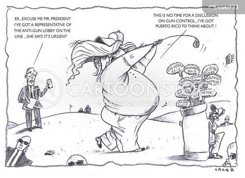 anti-gun lobby cartoon