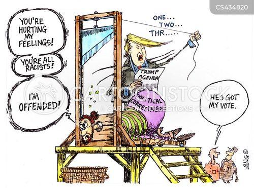 trump haters cartoon