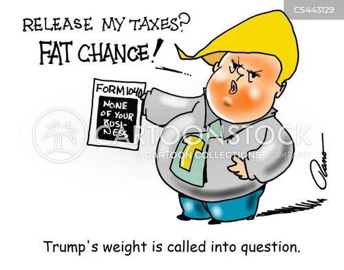 tax records cartoon