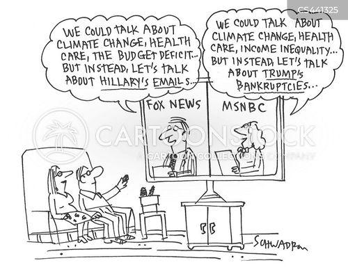 email scandal cartoon