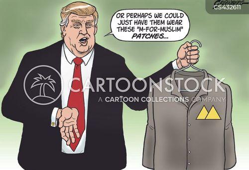islamophobic cartoon