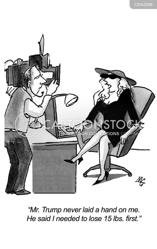 female voter cartoon