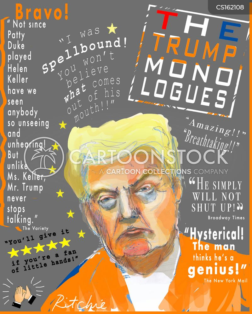 political drama cartoon