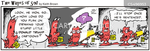impeachment investigation cartoon
