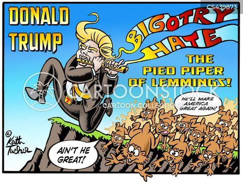 trump voters cartoon