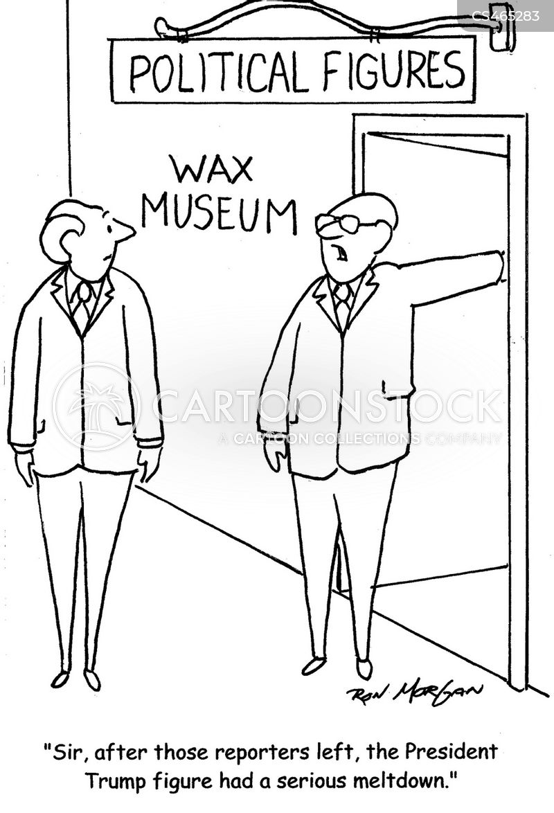 wax figures cartoon