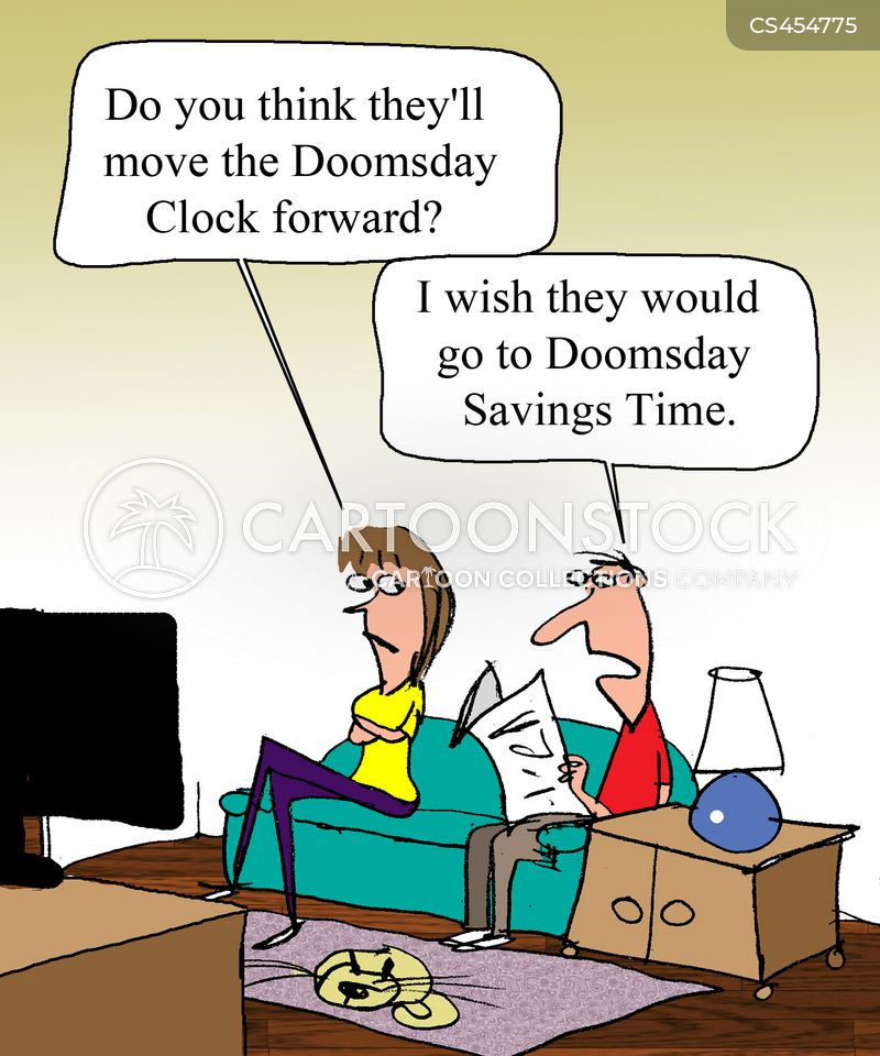 daylight savings cartoon