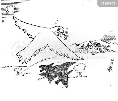dove of peace cartoon