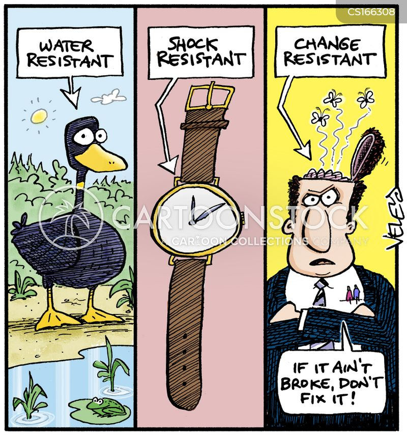 water resistant cartoon