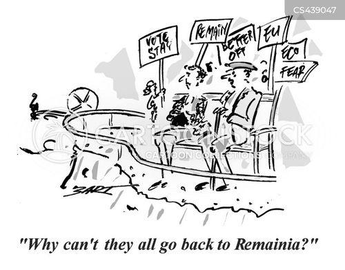 vote leave cartoon