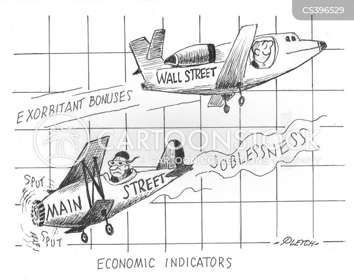economic indicators cartoon