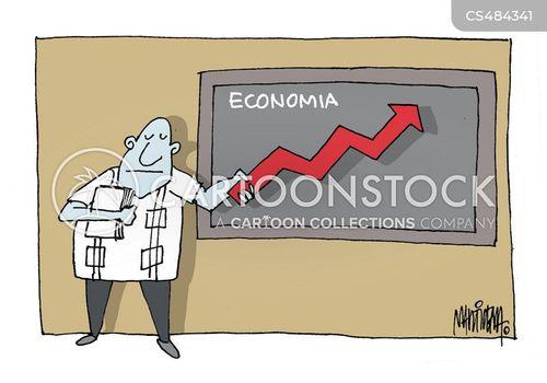 economic upturn cartoon