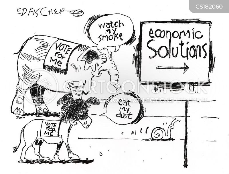 economic policy cartoon