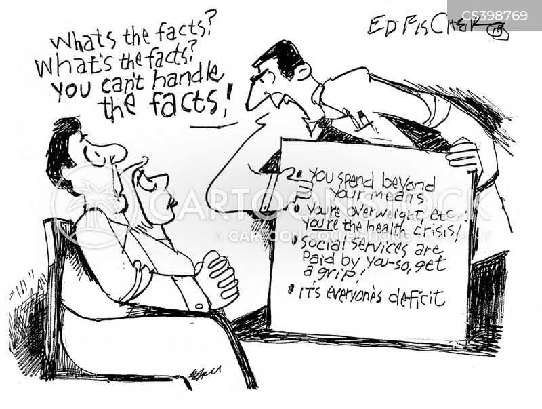 health crisis cartoon