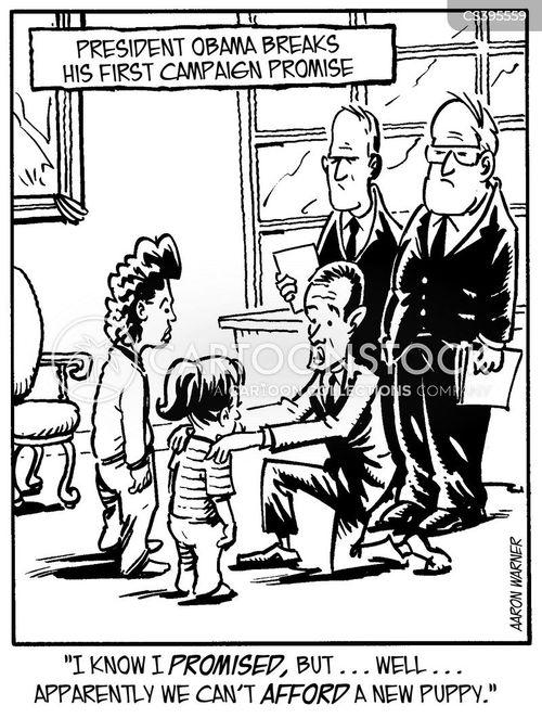 new president cartoon