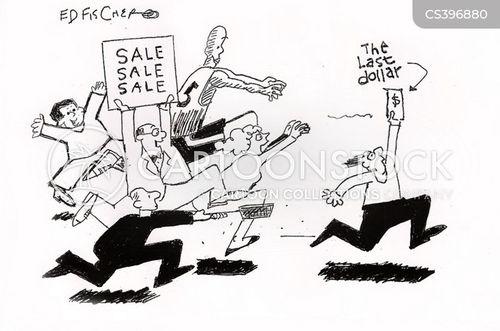 car manufacturers cartoon