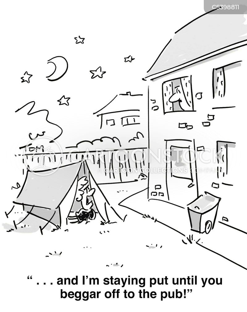 Camping Out cartoons, Camping Out cartoon, funny, Camping Out picture, Camping Out pictures, Camping Out image, Camping Out images, Camping Out illustration, Camping Out illustrations