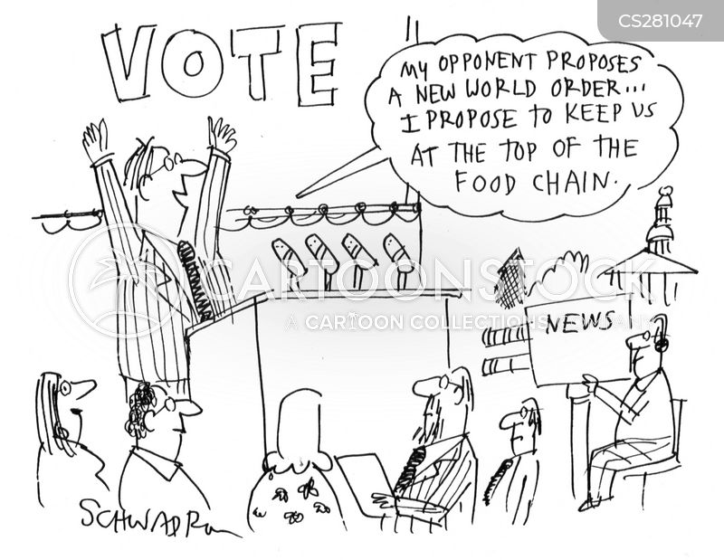 electoral candidate cartoon