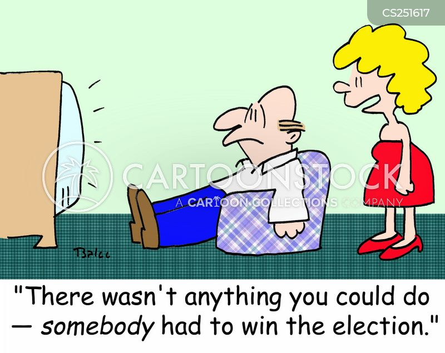 election winner cartoon