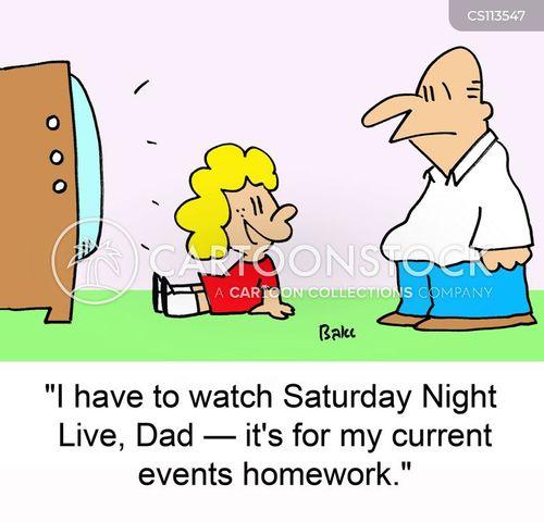 saturday night live cartoon