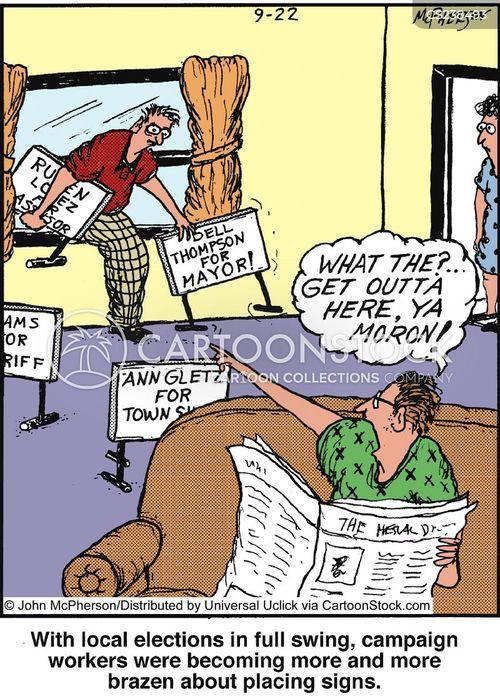 brazen cartoon