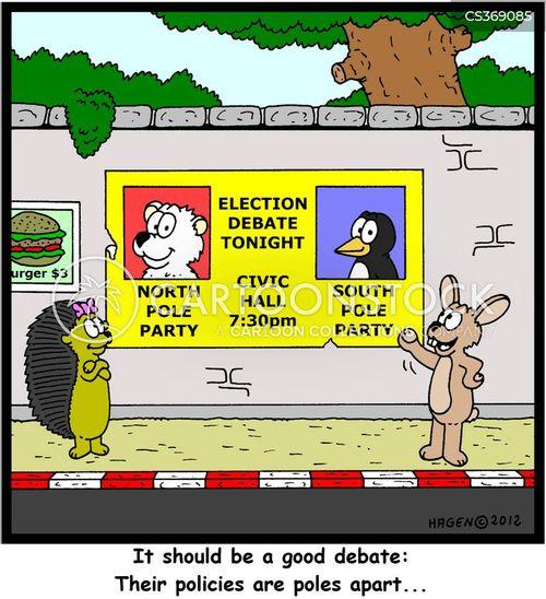 debated cartoon