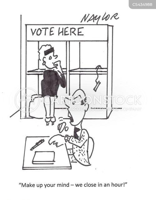 election day cartoon