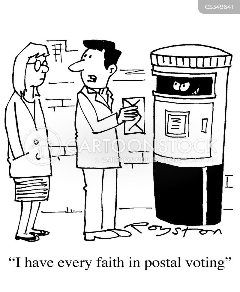 Postal Vote Cartoons And Comics Funny Pictures From