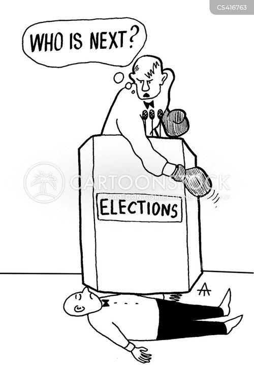 election debates cartoon