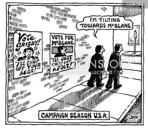 campaign promise cartoon