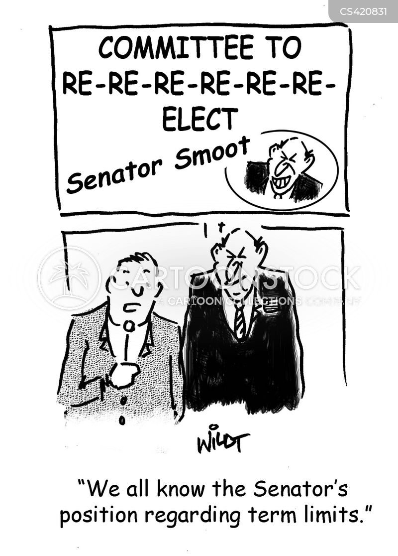 incumbents cartoon
