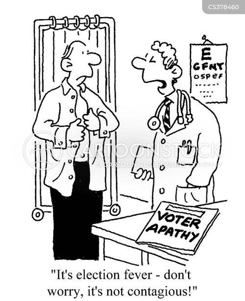 election fever cartoon