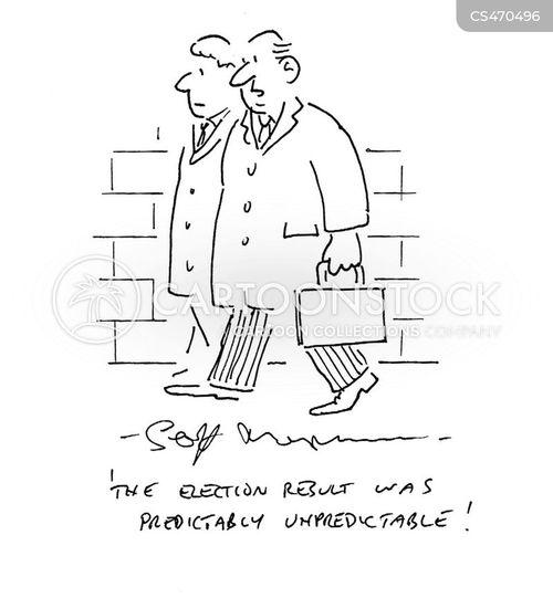 poltical pundit cartoon