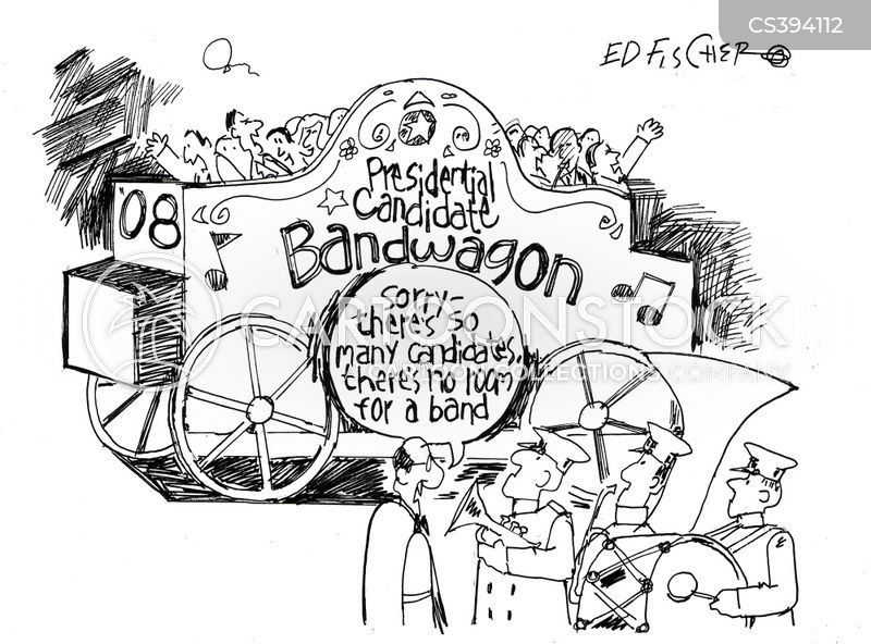 bandwagon cartoon