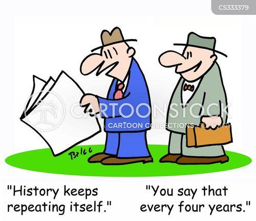 political history cartoon