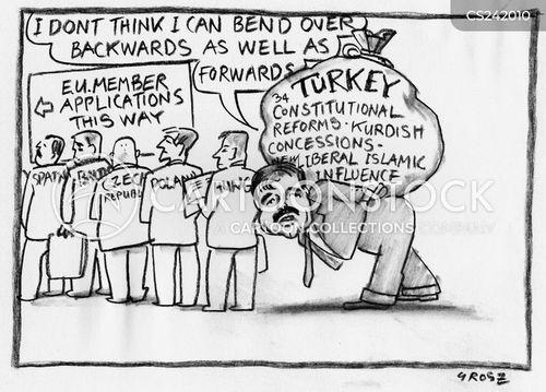 queue jumper cartoon