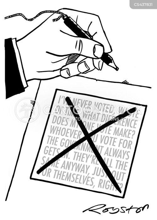 enfranchise cartoon