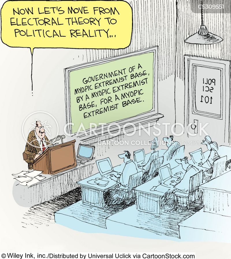 electoral theories cartoon