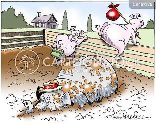 denigrate cartoon