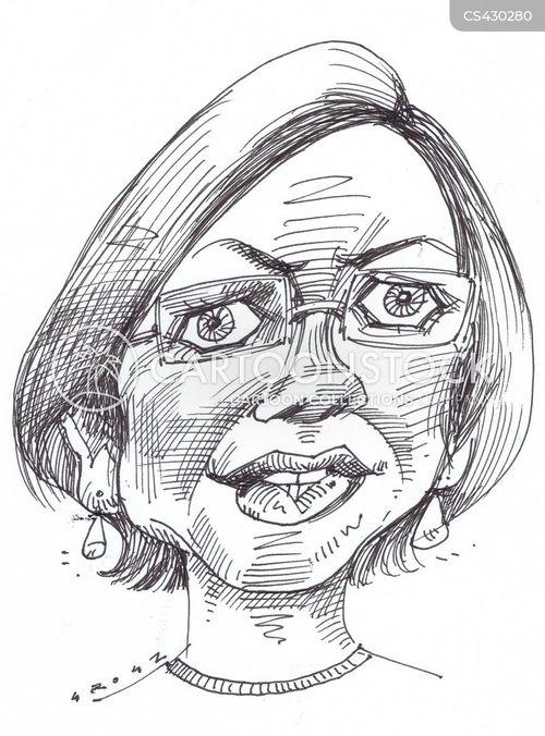 elizabeth warren cartoon