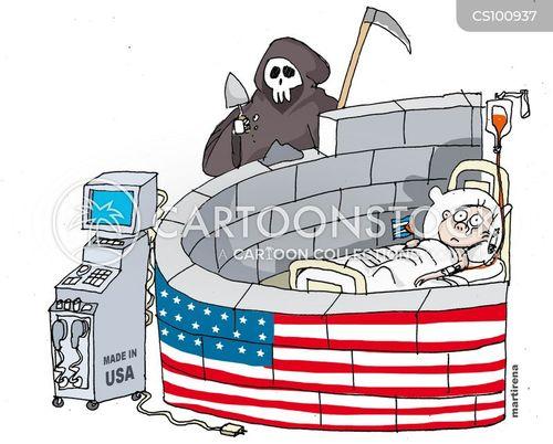 economic embargoes cartoon