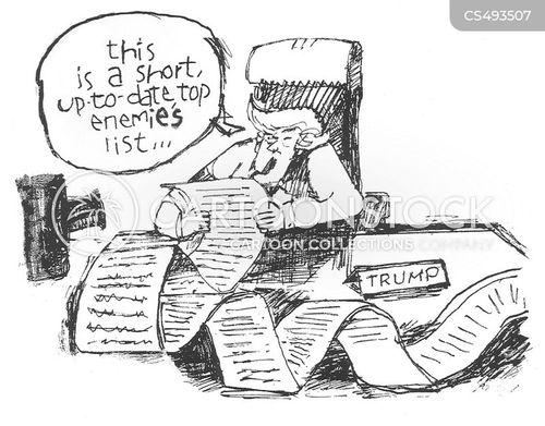 divisive politics cartoon